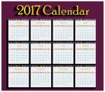 Bộ hình nền lịch 2017 full hd không nên bỏ qua số 1