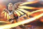 Hình nền các hot girl Overwatch Mercy 2