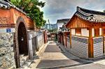 Hình ảnh kiến trúc cổ kính của làng Hanok Bukchon
