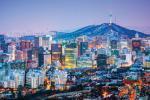 Hình ảnh quang cảnh Gangnam về đêm