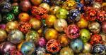 Hình nền bunch of Christmas ornaments