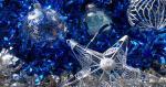 Hình nền Silver Christmas ornaments