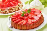 Bánh kem dâu tây chúc mừng sinh nhật dễ thương số 21