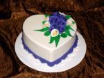 Bộ hình ảnh bánh sinh nhật hình trái tim tặng người yêu cực chất số 14