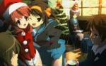 Bộ ảnh anime giáng sinh full hd cho máy tính số 21