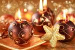 Hình nền merry christmas với ngọn nến đẹp lung linh số 5
