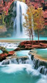 Hình nền thác nước 6
