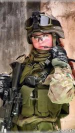 Hình nền nữ quân nhân xinh đẹp 9