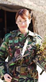 Hình nền nữ quân nhân xinh đẹp 8