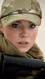 Hình nền nữ quân nhân xinh đẹp 6