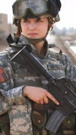 Hình nền nữ quân nhân xinh đẹp 4