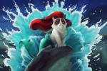 Hình nền chú mèo Grumpy cáu kỉnh vào vai các nhân vật của Walt Disney