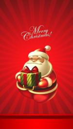 Bộ hình nền merry christmas cho iphone 6 đẹp lung linh số 14
