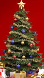Bộ hình nền merry christmas cho iphone 6 đẹp lung linh số 13