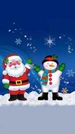 Bộ hình nền merry christmas cho iphone 6 đẹp lung linh số 12
