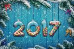 Bộ tuyển tập hình nền happy new year 2017 tuyết rơi đẹp mê hồn số 3