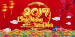 Hình ảnh, hình nền chúc mừng năm mới đinh dậu 2017 độc đáo số 12