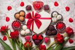 Bộ ảnh valentine 14 2 với những bó hồng kèm hộp quà cực chất số 27