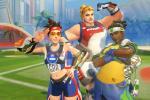 12 ảnh bìa facebook bộ skin Summer Games dành cho fan Overwatch