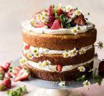 Hình ảnh bánh sinh nhật họa tiết hoa lá 3D - 17