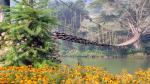 Cầu Mây Sapa là cây cầu làm bằng mây theo kiến trúc xưa cũ của người Mông ở Sapa. Nó bắc qua dòng suối Mường Hoa, thuộc xã Tả Van, huyện Sapa. Nếu như may mắn khi đến thăm Cầu Mây vào những ngày có sương mù cuộn từ dòng suối Mường Hoa phủ kín cây cầu, đồng thời cảm giác bồng bềnh khi đi qua cây cầu, quý khách sẽ cảm thấy như đang đi trên mây… Vì vậy cây cầu có tên là: Cầu Mây – Là một cây cầu có tính thẩm mỹ và giá trị du lịch cao. Để đi qua chiếc cầu này đòi hỏi du khách phải có lòng dũng cảm, vì mỗi ván cách nhau cỡ 20cm sẽ gây ra hiện tượng hoa mắt nếu nhìn xuống… Dù đầy thử thách như vậy nhưng rất nhiều du khách từ khắp mọi miền của Đất Nước mỗi khi đến Sapa đều muốn thử cảm giác mạnh này. Đây cũng được coi là một trải nghiệm khó quên khi đến với Sapa.