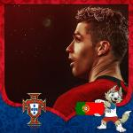 Cover avatar cầu thủ Ronaldo tuyển Bồ Đào Nha