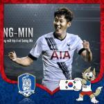 Cover avatar cầu thủ Son  Heung-min tuyển Hàn Quốc