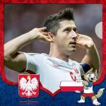 Cover avatar cầu thủ Robert Lewandowski tuyển Ba Lan
