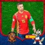 Cover avatar cầu thủ Gerard Pique tuyển Tây Ban Nha