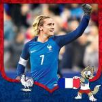 Cover avatar cầu thủ Antoine Griezmann tuyển Pháp