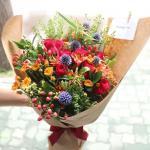 Bó hoa sinh nhật mang vẻ đẹp lung linh - 9