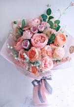 Bó hoa sinh nhật mang vẻ đẹp lung linh - 19