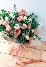 Bó hoa sinh nhật mang vẻ đẹp lung linh - 3