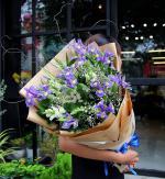 Bó hoa sinh nhật mang vẻ đẹp lung linh - 4