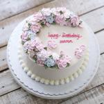 Top 15 mẫu bánh sinh nhật họa tiết hoa đẹp mắt gửi đến mẹ yêu - 10