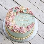 Top 15 mẫu bánh sinh nhật họa tiết hoa đẹp mắt gửi đến mẹ yêu - 1