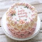 Top 15 mẫu bánh sinh nhật họa tiết hoa đẹp mắt gửi đến mẹ yêu - 2