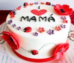 Top 15 mẫu bánh sinh nhật họa tiết hoa đẹp mắt gửi đến mẹ yêu - 8