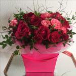 Mẫu cắm hộp hoa sinh nhật đẹp mê mẩn cho bạn tham khảo - 13