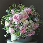 Mẫu cắm hộp hoa sinh nhật đẹp mê mẩn cho bạn tham khảo - 15