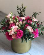 Mẫu cắm hộp hoa sinh nhật đẹp mê mẩn cho bạn tham khảo - 4