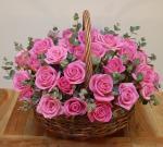 Lẵng hoa tươi chúc mừng sinh nhật không thể ngọt ngào hơn - 12