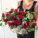 Lẵng hoa tươi chúc mừng sinh nhật không thể ngọt ngào hơn - 14