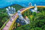 Hình ảnh mới nhất về cây cầu Vàng Đà Nẵng đang khiến dân tình