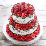 Bánh sinh nhật hoa hồng 3D đẹp xuất sắc dành tặng mẹ và bạn gái ý nghĩa nhất - 16
