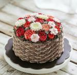 Bánh sinh nhật hoa hồng 3D đẹp xuất sắc dành tặng mẹ và bạn gái ý nghĩa nhất - 11