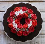 Bánh sinh nhật hoa hồng 3D đẹp xuất sắc dành tặng mẹ và bạn gái ý nghĩa nhất - 12
