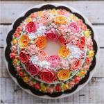 Bánh sinh nhật hoa hồng 3D đẹp xuất sắc dành tặng mẹ và bạn gái ý nghĩa nhất - 13
