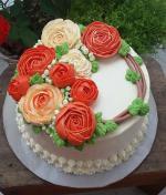 Bánh sinh nhật hoa hồng 3D đẹp xuất sắc dành tặng mẹ và bạn gái ý nghĩa nhất - 14