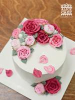 Bánh sinh nhật hoa hồng 3D đẹp xuất sắc dành tặng mẹ và bạn gái ý nghĩa nhất - 7